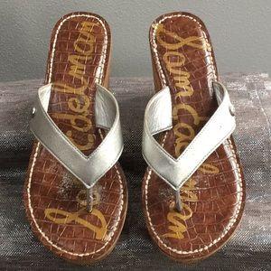 Sam Edelman woman's size 8.5 wedge sandal